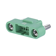 G125-3241296M2 - 6+6 Pos. Male DIL Cable Housing, Screw-Lok Panel Mount