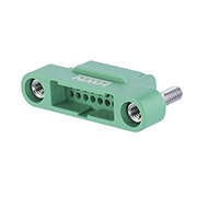 G125-3243496M2 - 17+17 Pos. Male DIL Cable Housing, Screw-Lok Panel Mount