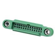 G125-3242696M1 - 13+13 Pos. Male DIL Cable Housing, Screw-Lok