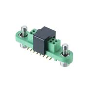 G125-FS11605F1R - 8+8 Pos. Female DIL Vertical SMT Conn. Screw-Lok (T+R)
