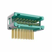 G125-MH11605L7R - 8+8 Pos. Male DIL Horizontal Throughboard Conn. no Latches (T+R)