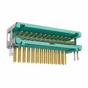 G125-MH12605L5P - 13+13 Pos. Male DIL Horizontal Throughboard Conn. no Latches