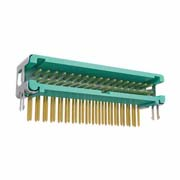 G125-MH13405L5P - 17+17 Pos. Male DIL Horizontal Throughboard Conn. no Latches