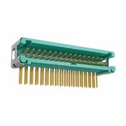 G125-MH13405L7P - 17+17 Pos. Male DIL Horizontal Throughboard Conn. no Latches