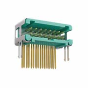 G125-MH21605L6R - 8+8 Pos. Male DIL Horizontal Throughboard Conn. no Latches (T+R)