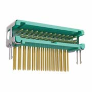 G125-MH22605L6P - 13+13 Pos. Male DIL Horizontal Throughboard Conn. no Latches