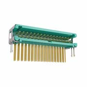 G125-MH23405L6P - 17+17 Pos. Male DIL Horizontal Throughboard Conn. no Latches