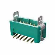 G125-MS11205L3R - 6+6 Pos. Male DIL Vertical SMT Conn. Latches (T+R)