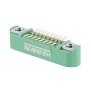 G125-MS11605M1P - 8+8 Pos. Male DIL Vertical SMT Conn. Screw-Lok