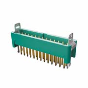 G125-MV12605L1P - 13+13 Pos. Male DIL Vertical Throughboard Conn. Latches