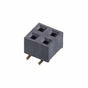 M20-7810245 - 2+2 Pos. Female DIL Vertical SMT Conn.
