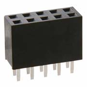 M20-7830842 - 8+8 Pos. Female DIL Vertical Throughboard Conn.