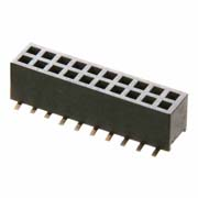 M50-3122045 - 20+20 Pos. Female DIL Vertical SMT Conn.