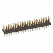 M50-3502042 - 20+20 Pos. Male DIL Vertical Throughboard Conn.