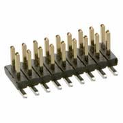 M50-3600342 - 3+3 Pos. Male DIL Vertical SMT Conn.