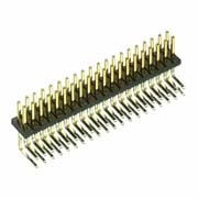 M50-3902042 - 20+20 Pos. Male DIL Horizontal Throughboard Conn.