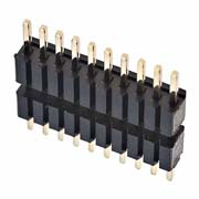 M52-XXXXXXEXXXX - Male SIL Extended Throughboard Conn. Variant