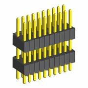 M52-XXXXXXFXXXX - Male DIL Extended Throughboard Conn. Variant