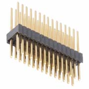 M52-XXXXXXWXXXX - Male DIL Vertical Throughboard Conn. Variant