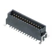 M55-7002642R - 13+13 Pos. Male DIL Vertical SMT Conn. (T+R)