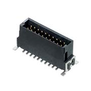 M55-7012042R - 10+10 Pos. Male DIL Vertical SMT Conn. (T+R)