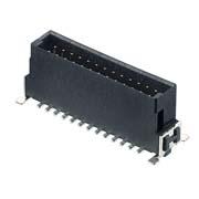 M55-7012642R - 13+13 Pos. Male DIL Vertical SMT Conn. (T+R)