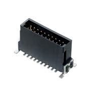 M55-7022042R - 10+10 Pos. Male DIL Vertical SMT Conn. (T+R)