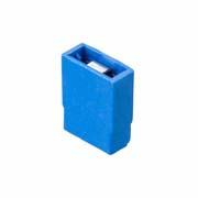 M7571-05 - 2 Pos. Female Jumper Socket, Open Shunt, Blue