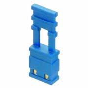 M7683-05 - 2 Pos. Female Jumper Socket, Handle Shunt, Blue