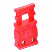 M7685-05 - 2 Pos. Female Jumper Socket, Handle Shunt, Red