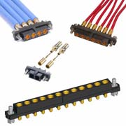 M80-4000000F1-02-32A-00-000 - 2 Pos. Female SIL 12AWG Cable Conn. Kit, Jackscrews