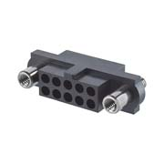 M80-4151098 - 5+5 Pos. Female DIL Cable Housing, Reverse Fix