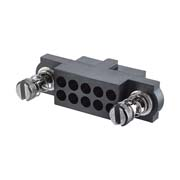 M80-4180498 - 2+2 Pos. Female DIL Cable Housing, 101Lok