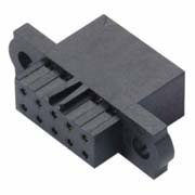M80-4542098 - 10+10 Pos. Female DIL Cable Housing, No Jackscrews