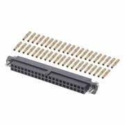 M80-4604205 - 21+21 Pos. Female DIL 22AWG Cable Conn. Kit, Jackscrews