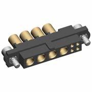 M80-4D10405F2-04-325-00-000 - 4+4 Pos. Female 22AWG+12AWG Cable Conn. Kit, Jackscrews