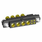 M80-4D10405F2-04-327-00-000 - 4+4 Pos. Female 22AWG+16AWG Cable Conn. Kit, Jackscrews