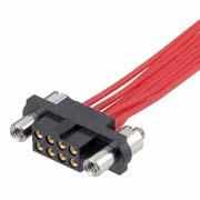 M80-4E11605F9 - 8+8 Pos. Female DIL 28-32AWG Cable Conn. Kit, Reverse Fix