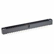 M80-5005042 - 25+25 Pos. Male DIL Vertical Throughboard Conn. Jackscrews