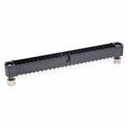M80-5105042 - 25+25 Pos. Male DIL Vertical Throughboard Conn. Jackscrews