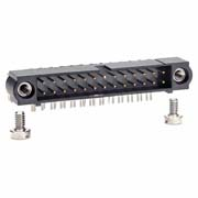 M80-5402642 - 13+13 Pos. Male DIL Horizontal Throughboard Conn. Jackscrews