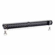 M80-5405042 - 25+25 Pos. Male DIL Horizontal Throughboard Conn. Jackscrews