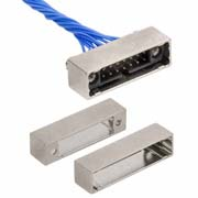 M80-5D10605B1 - 3+3 Pos. Male DIL 22AWG Cable Conn. Kit, Shielded