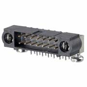M80-5L12642MD - 13+13 Pos. Male DIL Horizontal Throughboard Conn. 101Lok