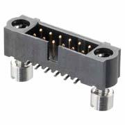 M80-5S11642ME - 8+8 Pos. Male DIL Vertical SMT Conn. 101Lok