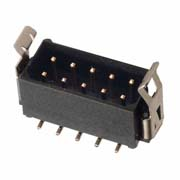M80-8281045 - 5+5 Pos. Male DIL Vertical SMT Conn. Latches